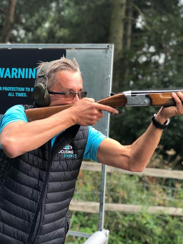 Clay Pigeon Shooting Focusing Events