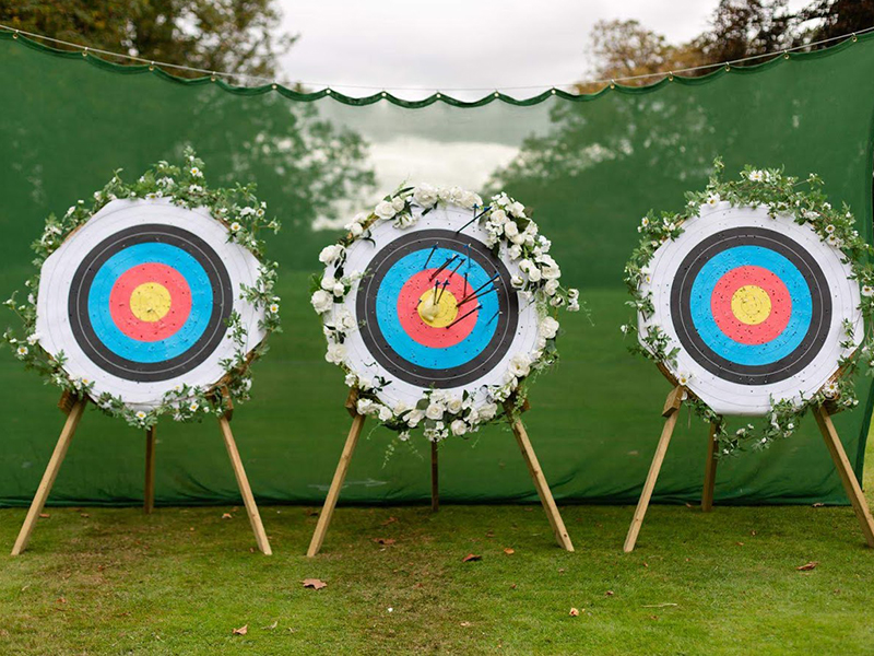 Wedding Archery - Focusing Events